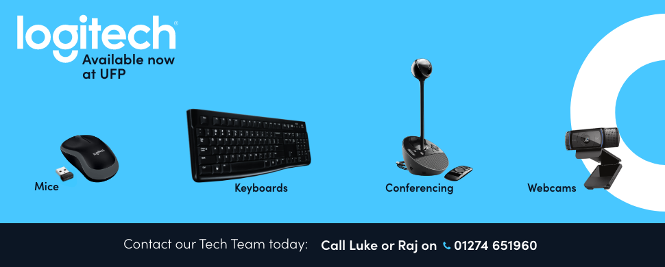 Logitech now available at UFP