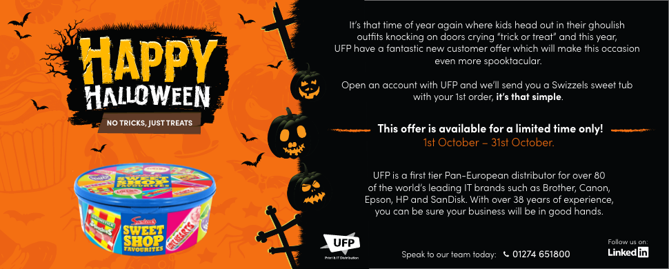 Halloween New Customer Offer