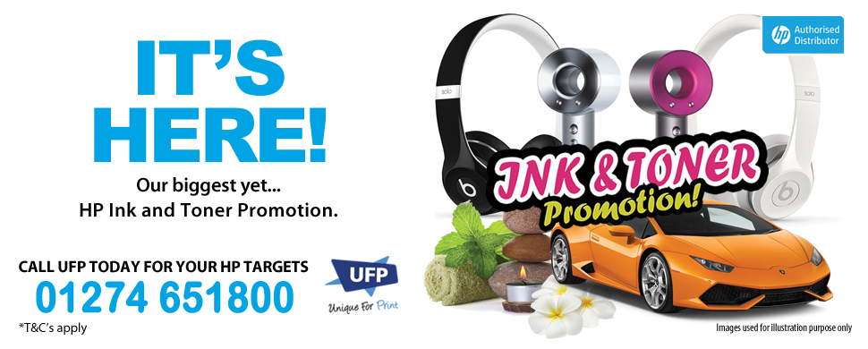 HP Ink and Toner Promotion