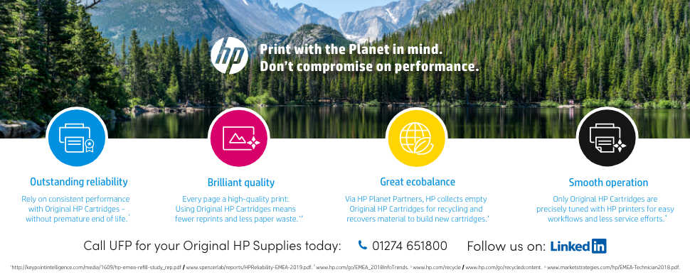HP Planet Partner - Genuine supplies
