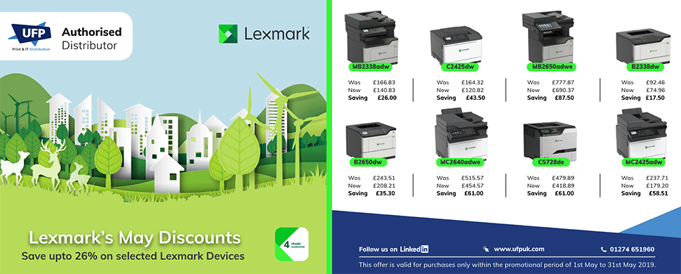 LExmark May Offers
