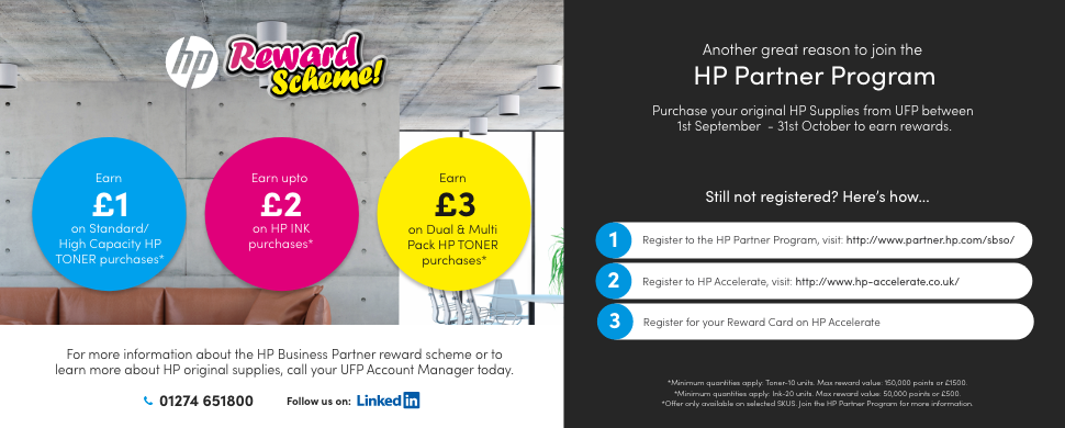 HP Rewards Program