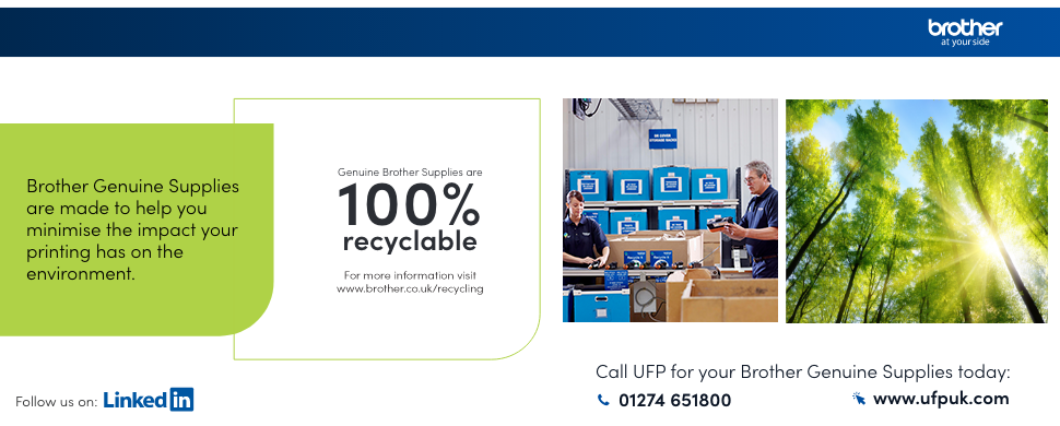 Brother Genuine Supplies - Sustainability